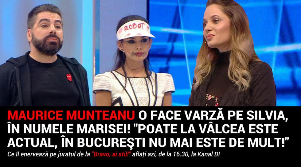 Maurice Munteanu o face varza...