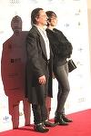 "Claudiu Bleont, aparitie socanta la Premiile Gopo! A venit in frac si cu ""ciocate cu tinte""! Cum arata acum Andra, sotia actorului"