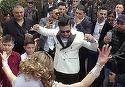 "Nunta mare in cartier! Bekali a luat-o pe printesa Larisa, iar Salam si Sorinel le-au cantat ""la valoare""! VIDEO"