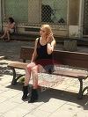 Denisa Manelista, surprinsa in Centrul Vechi! Asa arata acum cateva luni artista despre care se zvoneste ca ar suferi de boala care a omorat-o pe Ileana Ciuculete! FOTO EXCLUSIV!