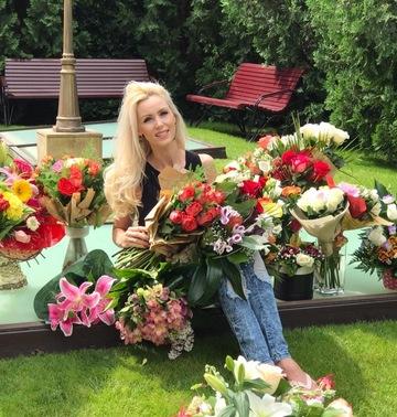 Mihaela Prigoana primeste munti de flori! Iata cate buchete i-au fost daruite intr-o singura zi!