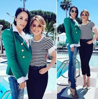 Andreea Marin, alături de Alexandra Dinu, la Festivalul de la Cannes! Cât de frumoasă este fosta soţie a lui Adrian Mutu