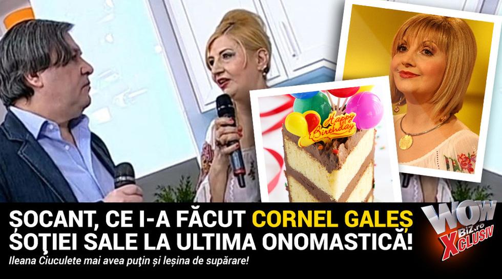 Socant, ce i-a facut Cornel...