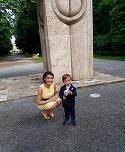 """Zi de sarbatoare pentru Andreea Mantea! Fiul ei a implinit 2 ani: """"E baiat mare, l-am pus la treaba"""""""
