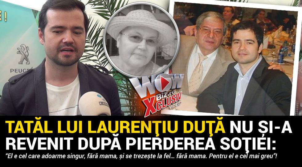 Tatal lui Laurentiu Duta nu...