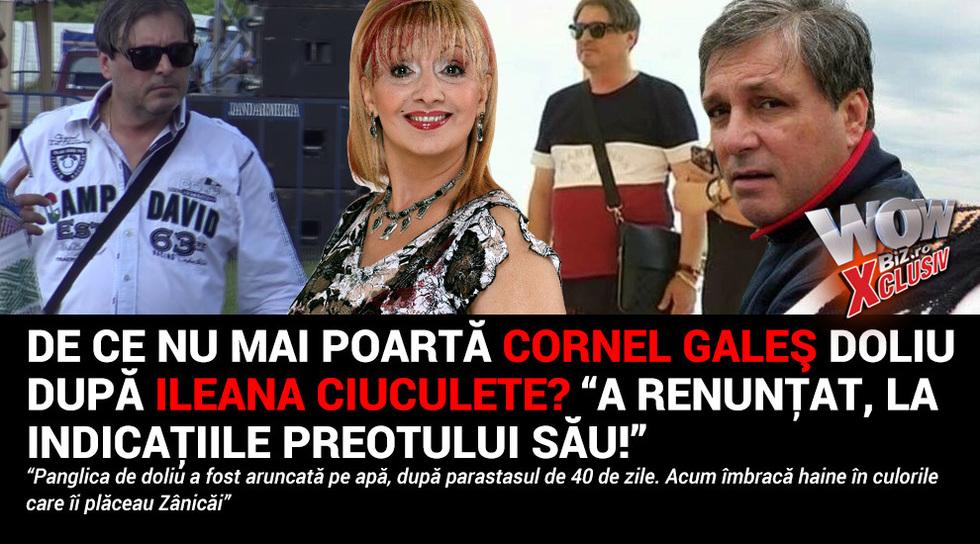 De ce nu mai poarta Cornel...