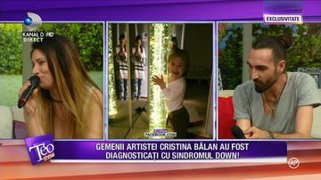 """Cristina Balan a vorbit despre gemenii ei care au sindromul Down: """"Pe mine ma sperie... """""""