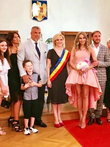Gabriela Firea a oficializat cununia civila dintre Crina Abrudan si Gabi Popescu! Ce mesaj le-a transmis imediat dupa ceremonie