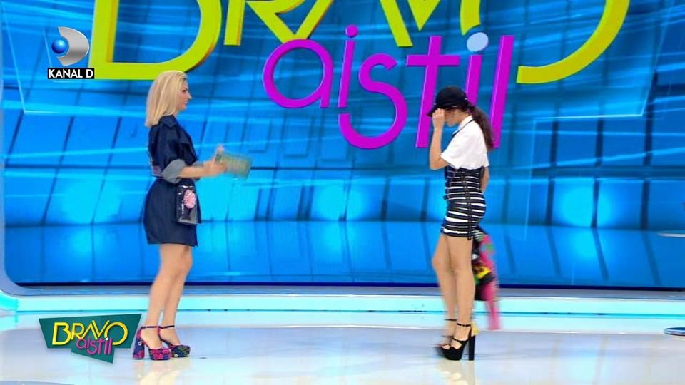 """Atac dur al Denisei: """"Marisa este un fel de Petronela!"""" Astazi, la """"Bravo, ai stil!"""", de la 16.30, la Kanal D"""
