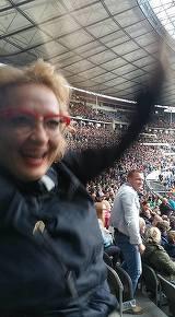 Mihaela Tatu, la concert la Berlin!  Cum se distreaza fosta prezentatoare tv