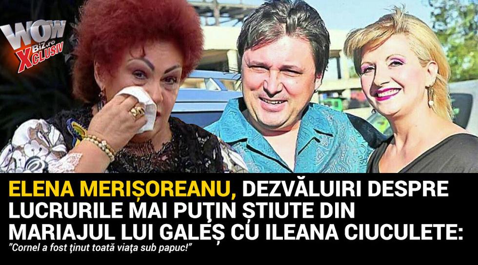 Elena Merisoreanu, dezvaluiri...