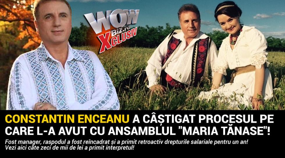 Constantin Enceanu a castigat...