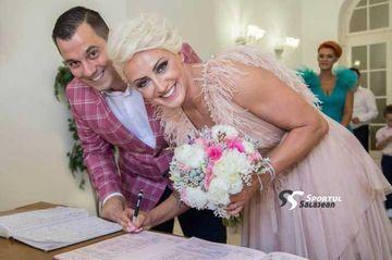 """Ramona Farcău s-a căsătorit! Mesajul emoţionant transmis de soţul handbalistei: """"Fiecare clipă..."""""""