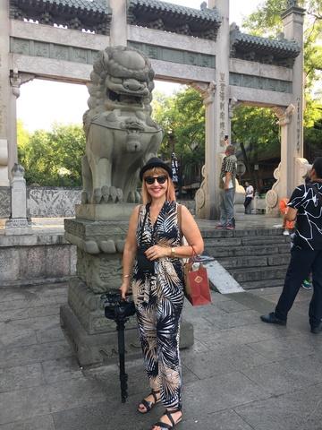 Marina Almasan a aparut in principalul jurnal de stiri de la o televiziune din China! FOTO