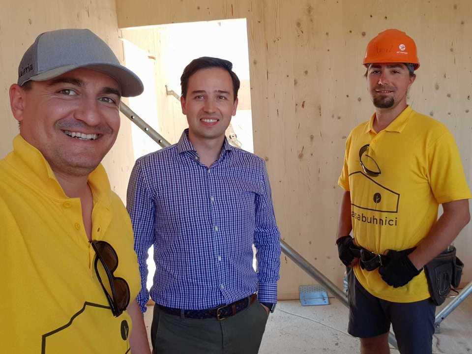George Buhnici a bagat peste 100.000 euro in constructia casei de la Corbeanca! Imobilul este gata in proportie de 70% | EXCLUSIV