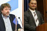Bataie intre politicieni romani la TV. Mirel Palada, fostul purtator de cuvant al Guvernului, l-a lovit cu pumnul pe Mihai Gotiu, vicepresedinte al Senatului