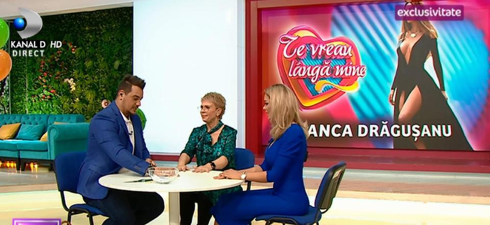 """Bianca, """"razboi pe porunci"""" cu Teo si Bursucu! Noua prezentatoare de la """"Te vreau langa mine"""" a raspuns provocarilor! """"Am mari emotii pentru saptamana viitoare, sper sa ma descurc"""""""