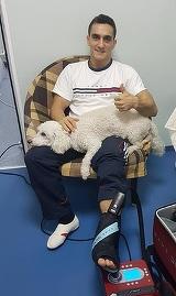 Marian Dragulescu face primele declaratii dupa accidentarea la picior