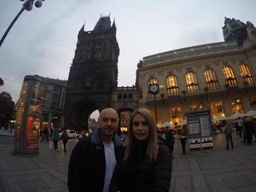 Mihai Mitoseru si Noemi, vacanta romantica la Praga. Prezentatorul TV i-a facut cea mai frumoasa declaratie de dragoste sotiei lui