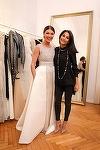 La petrecerea de nunta, Ilinca Vandici va purta doua rochii de mireasa create de designerul Andra Turcanu