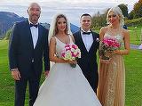 S-au casatorit! Fiul omului de afaceri Nicu Gheara a luat-o de sotie pe aleasa inimii lui