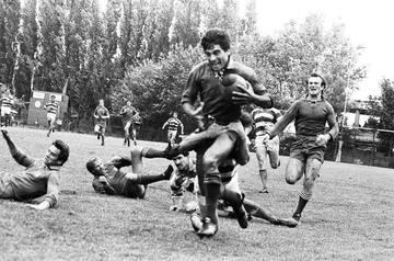 Aceasta a fost marea drama a lui Marcel Toader! Fostul sportiv a suferit enorm cand fiul sau si-a rupt piciorul si a renuntat la rugby FOTO