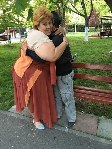 """Ioana Tufaru e disperata. Are nevoie de bani pentru tratarea afectiunilor lui Ionut. Situatia e grava! """"Poate sa paralizeze"""" EXCLUSIV"""