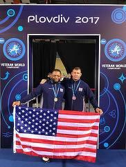 Fostul sot al Danielei Gyorfi a devenit vicecampion mondial la lupte! Gelu Bors a concurat pentru Statele Unite ale Americii FOTO