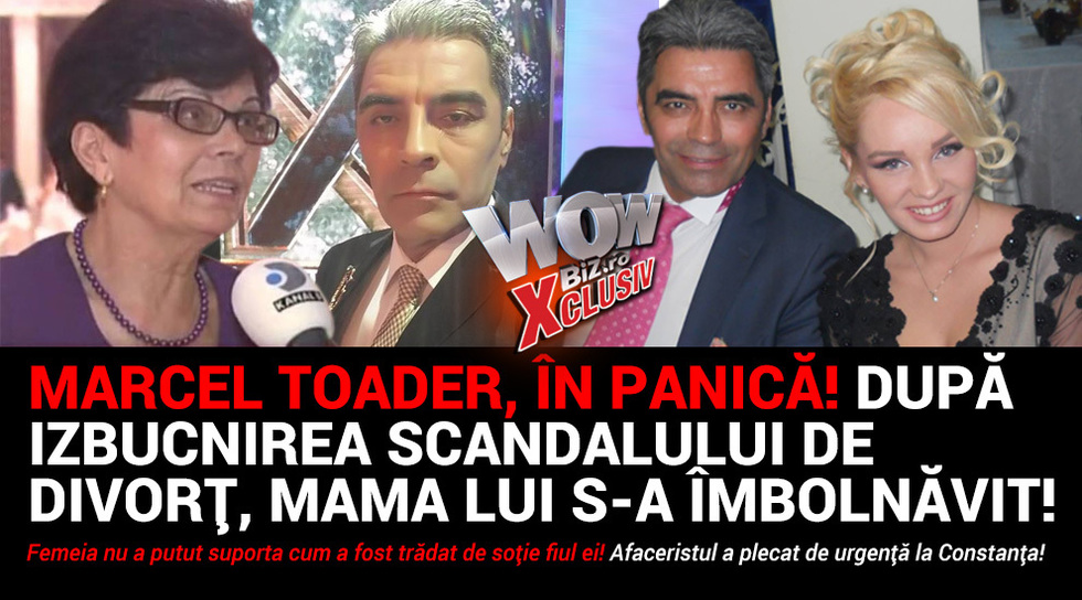 Marcel Toader, in panica!...
