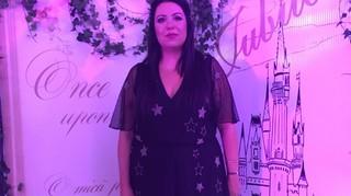 Oana Roman, aparitie de senzatie la botezul fiicei Elenei Gheorghe! Si-a etalat noua silueta intr-o rochita superba