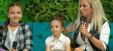 Rocsana Marcu, prima aparitie cu fiicele ei la TV: Indira si Mayra! Teo le-a luat la intrebari
