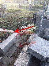 Ce s-a intamplat cu cele doua morminte distruse de vijelie, chiar langa locul de veci al Tatianei Iekel, fosta sotie a lui Florin Piersic VIDEO EXCLUSIV