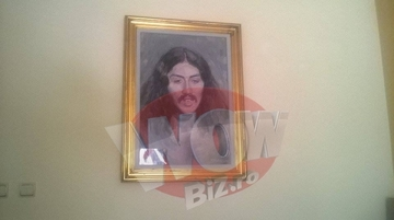 Vila de la Snagov a lui Serghei Mizil este plina cu obiecte de valoare. Omul de afaceri are un tablou de 200.000 de euro ascuns de ochii curiosilor. FOTO EXCLUSIV!