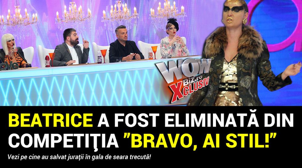 Beatrice a fost eliminata din...