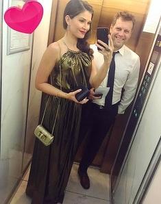 Alina Puscas si sotul ei, motiv de sarbatoare! Prezentatoarea TV a facut anuntul
