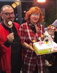 """Cum a aparut fostul primar Piedone la o petrecere in familie: """"Le-am facut o surpriza si am venit imbracat in morosan!"""" FOTO"""