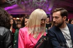 Putini stiu ca Dani Otil si Andreea Balan sunt prieteni buni! Cum au fost surprinsi cei doi la un eveniment monden