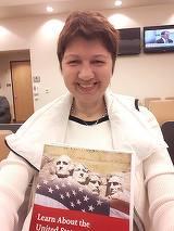 Ca sa obtina cetatenia americana, Corina Dragotescu a vorbit la interviu despre Ceausescu si despre Dracula!