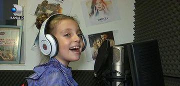 Fiica lui Christian Sabbagh a inceput lectiile de canto