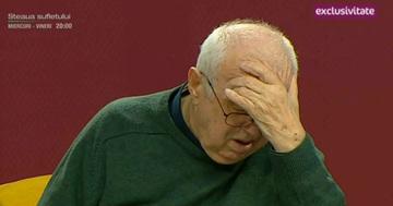 "Alexandru Arsinel, in lacrimi, la Teo Show! A vorbit gatuit de emotie despre primul spectacol fara Stela Popescu: ""Mi-am dat seama ca nu o s-o mai prezint niciodata pe Stela"""