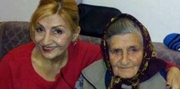 Fotografie cutremuratoare! Mama Ilenei Ciuculete, imbatranita de tragedie, la 9 luni de la moartea fiicei sale!