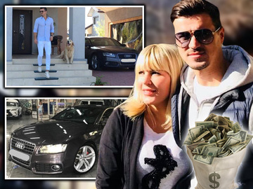 Logodnicul Elenei Udrea isi vinde limuzina de lux! Vezi cati bani cere Adrian Alexandrov pe masina