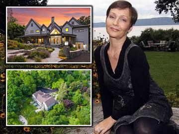 O celebra actrita romanca a devenit milionara in America! Anda Onesa are o vila fabuloasa, in mijlocul unei paduri, pe care o vinde cu 2,9 milioane de dolari! EXCLUSIV