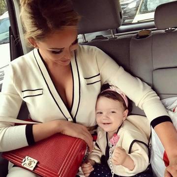 "Bianca Dragusanu isi avertizeaza fetita: ""Sa nu te prind, Sofia, ca... """