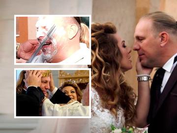 Imagini in premiera de la cea mai discreta nunta din showbizul romanesc! Cum si-a trait Vali Craciunescu ultimele ore de burlacie EXCLUSIV