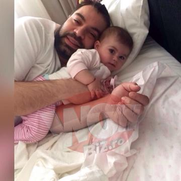 Roxana Dobre a lipsit de la aniversarea fiicei sale? Langa cine a petrecut Florin Salam
