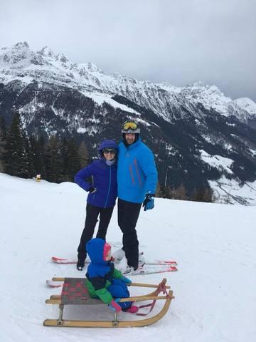 Imagini de basm din vacanta Mirelei Boureanu Vaida! E cu sotul si copiii la munte in Austria!