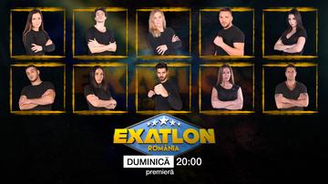 Ei sunt cei 10 Razboinici, care intra in competitia EXATLON!  Se vor bate cu cele 10 vedete, in cea mai dura competitie, difuzata de duminica, de la ora 20.00, la Kanal D