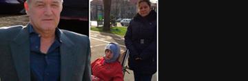 Drama sotilor Stoian, ajutati de Gigi Becali! Au un fiu paralizat de 18 ani si au ramas si fara casa!