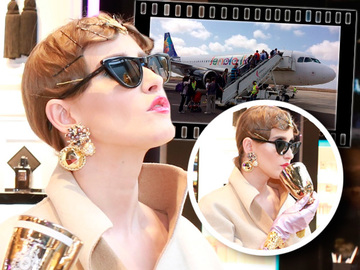 "Iulia Albu, la un pas sa piarda avionul! Ce a patit jurata ""Bravo, ai stil!"" VIDEO EXCLUSIV"